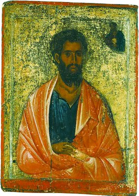 Ап. Иаков Зеведеев. Икона. 2-я пол. XIII в. (мон-рь ап. Иоанна Богослова на о-ве Патмос).jpg