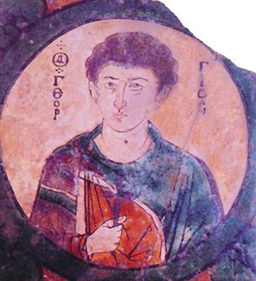 Вмч. Георгий. Керамическая икона. Никомидия. X-XI вв. (ГИМ).jpg