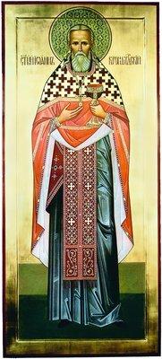 Прав. Иоанн Кронштадтский. Икона. 2004 г. Иконописец Г. В. Гашев (собор ап. Андрея Первозванного, С.-Петербург)