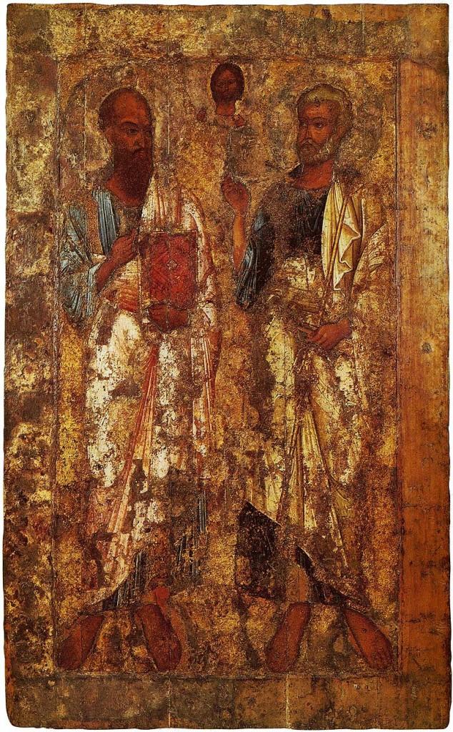 Апостолы Пётр и Павел. середина XI в..jpg